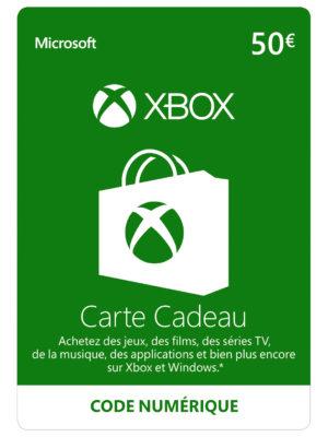 Xbox Live - Carte Cadeau de 50 EUR [Code Digital - Xbox Live]