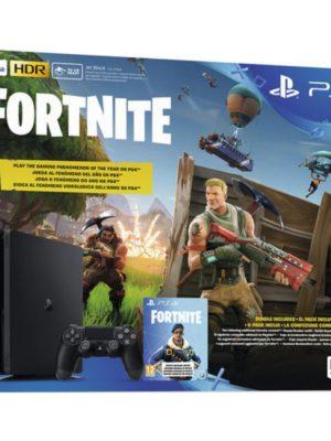 Pack Ps4 Slim 500 Go Noire Fortnite Battle Royal PS4
