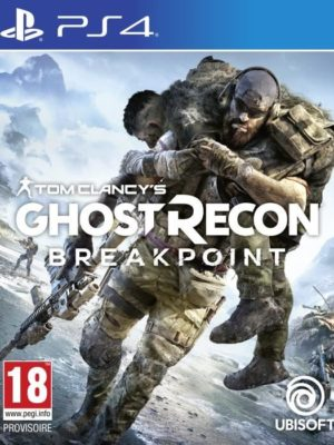 ghost recon breakpoint jeu ps4
