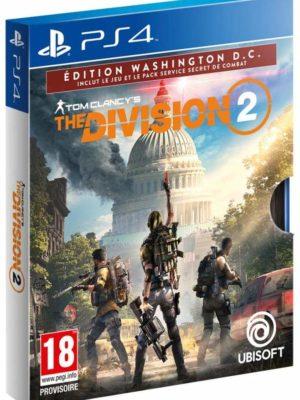 The Division 2 Edition Washington DC - Exclusivité Micromania PS4