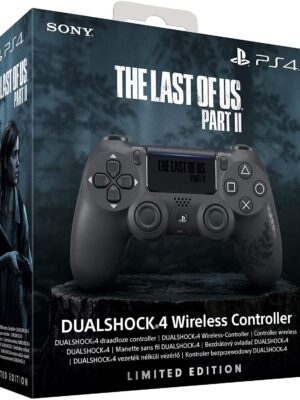 Sony Manette PlayStation 4 Édition Spéciale The Last of Us part II Limitée, DUALSHOCK 4, Sans fil, Batterie rechargeable, Bluetooth