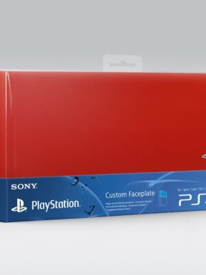 Custom Faceplate Red pour Console PS4