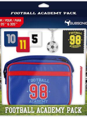 SUBSONIC Pack d'accessoires Football Academy pour Nintendo 3DS/3DSXL/New 3DS/New 3DSXL