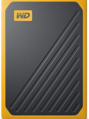 WD - My Passport Go 1TB - Disque SSD Portable - Amber