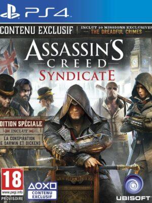 Assassins-CAssassin's Creed : Syndicate - édition spéciale ps4